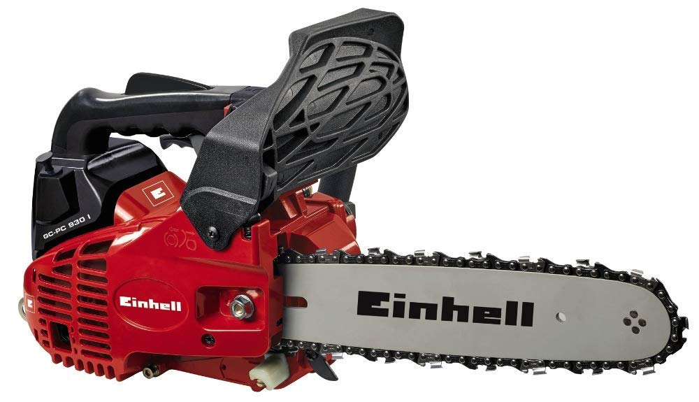 Einhell Tronçonneuse Thermique GC-PC 930 I Kit (Moteur 2 temps, Longueur de coupe 24 cm, Guide-chaîne et chaîne Oregon,Système anti-vibrations, Livrée avec 2ème chaîne)