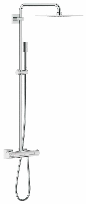 GROHE Colonne de Douche avec Mitigeur Thermostatique Rainshower F-Series 10 27469000 (Import Allemagne)