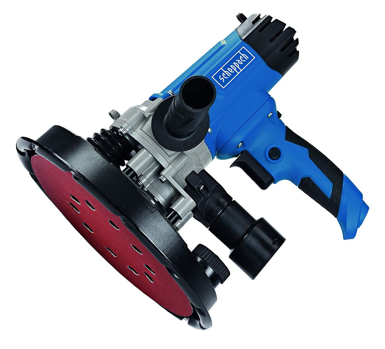 Scheppach 5903802901 Ponceuse à Plâtre DS 200, Bleu, Ø 225 mm