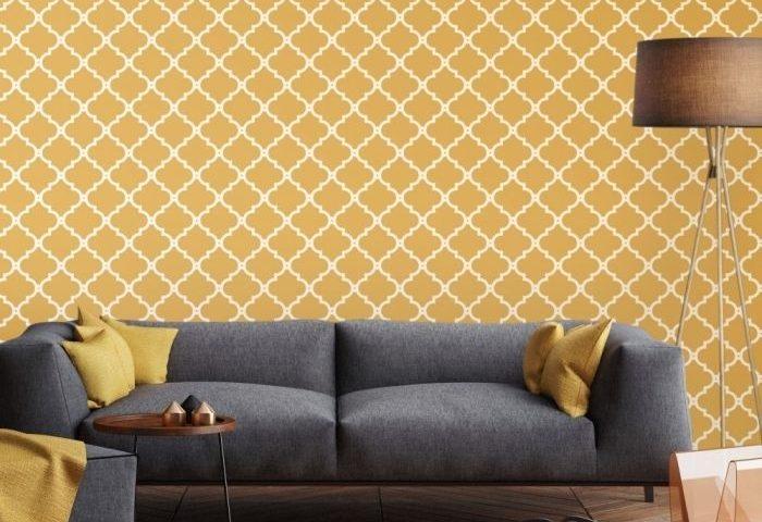 Déco salon gris et jaune moutarde : Cessez d'être banale