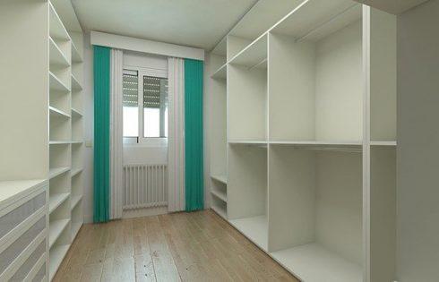 Installation d'un dressing en accord avec vos besoins et votre chambre