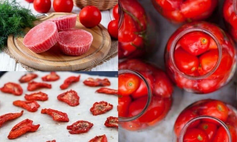 18 façons de préserver une abondance de tomates