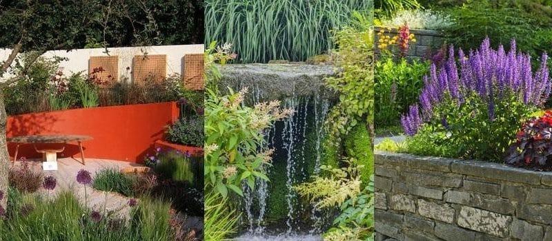 7 façons de concevoir un jardin sur un terrain en pente