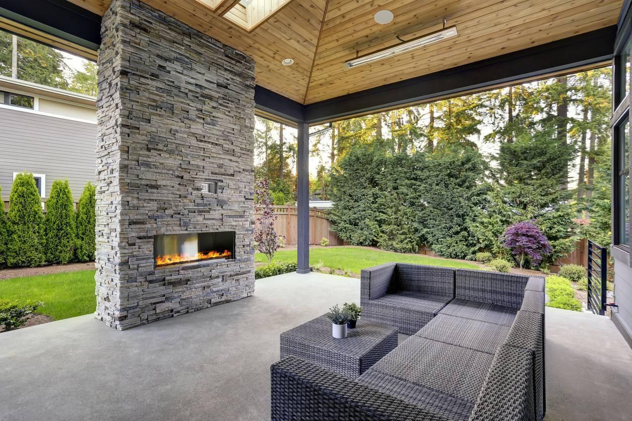 béton terrasse