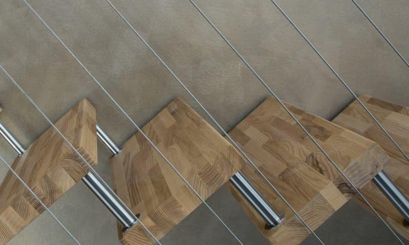 La fabrication des marches en bois