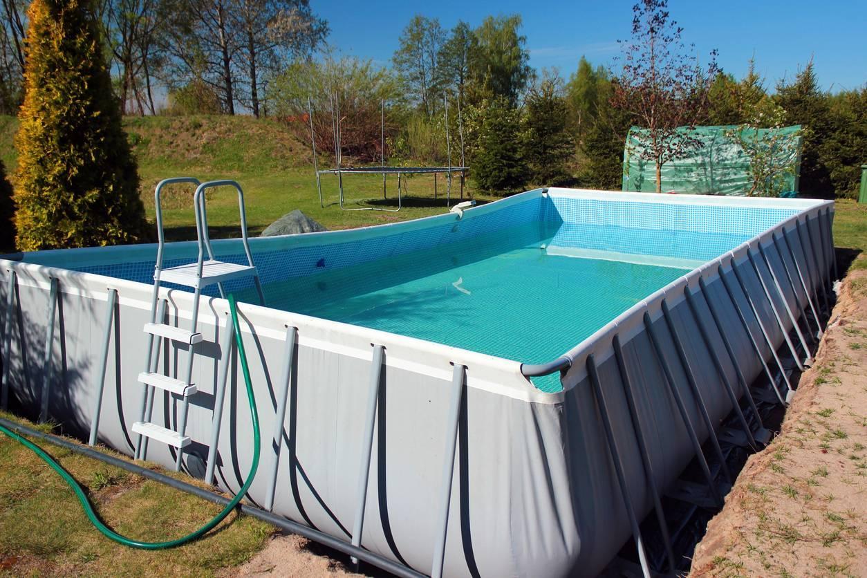 piscine tubulaire jardin