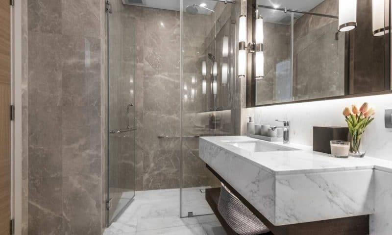 Salle de bain : osez la décoration entièrement en marbre !
